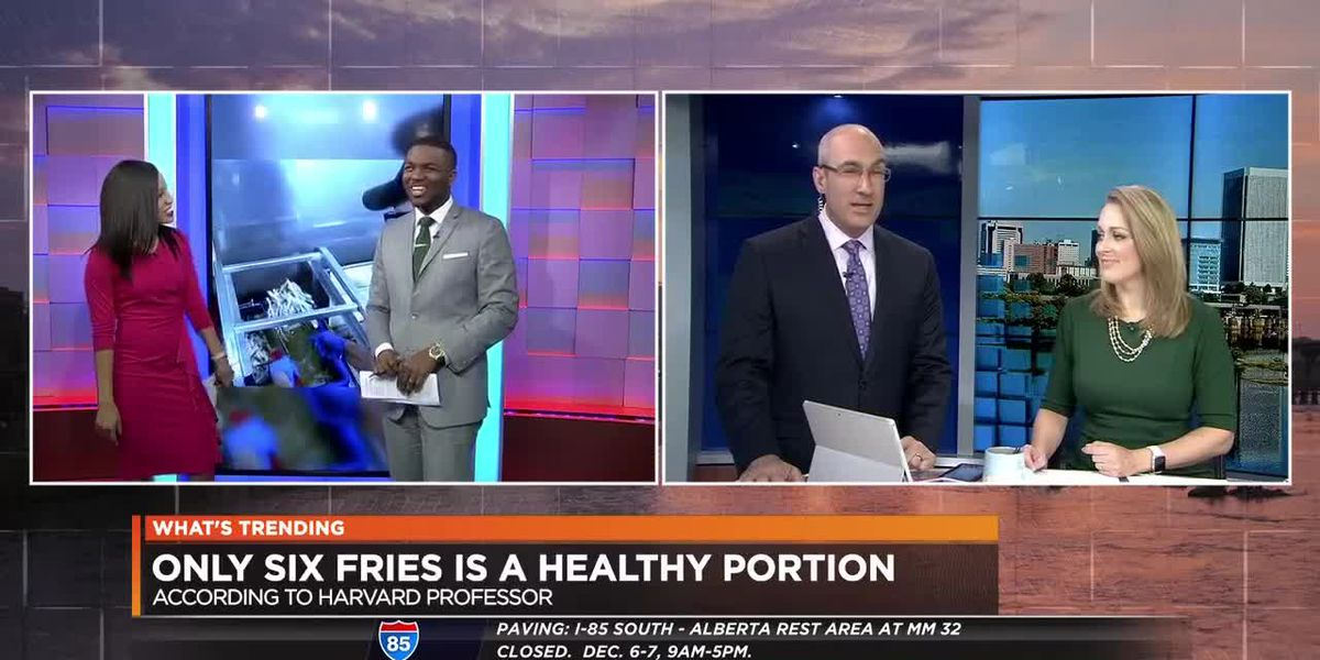 SIX fries is a health serving