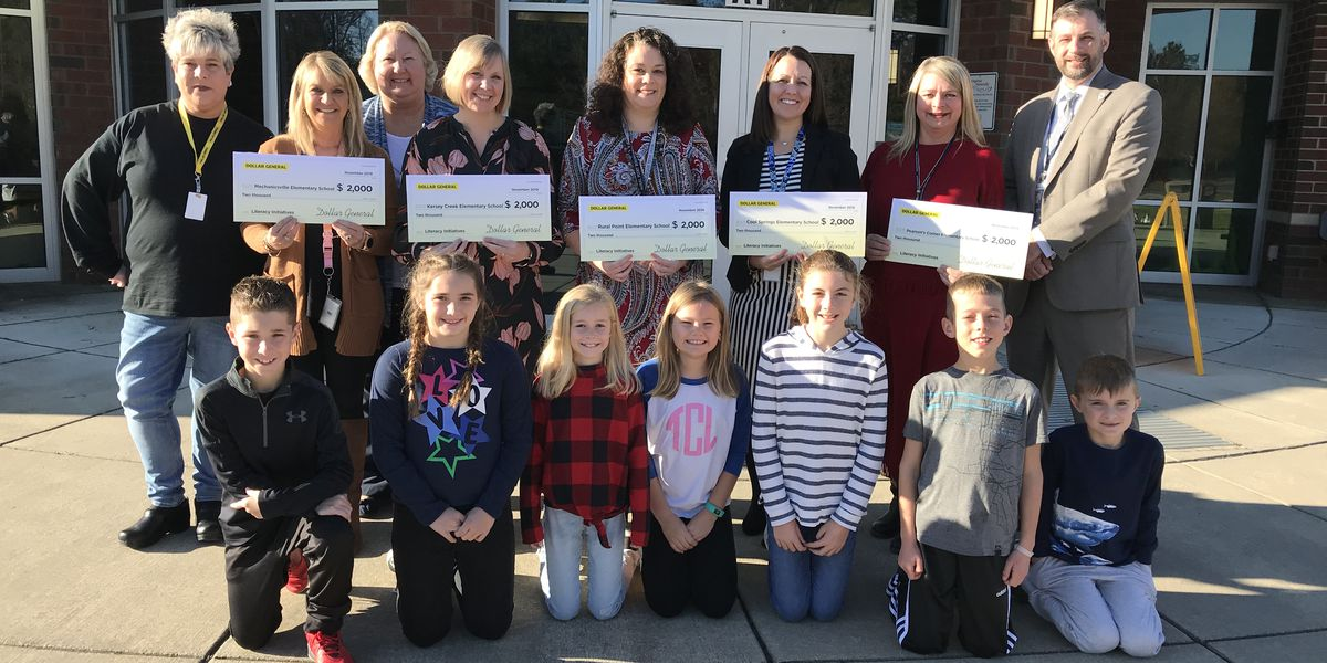 Hanover County Schools surprised with $10,000 donation from Dollar General