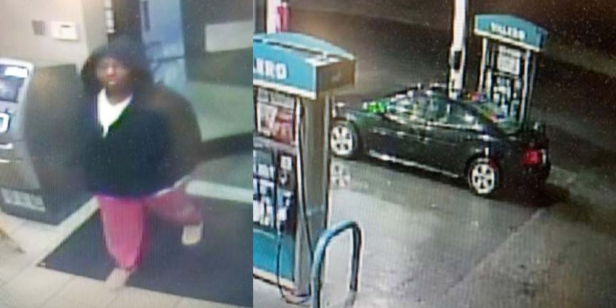 Deputies search for gas station robbery suspect
