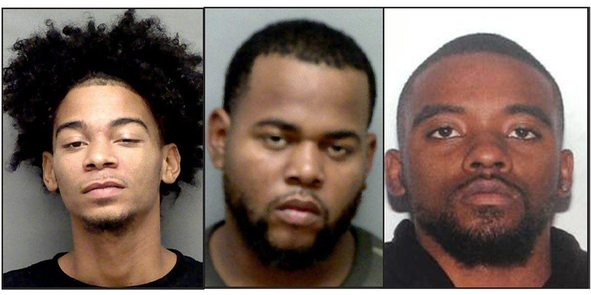 2 arrested, 1 wanted after report of shots fired during altercation at gas station