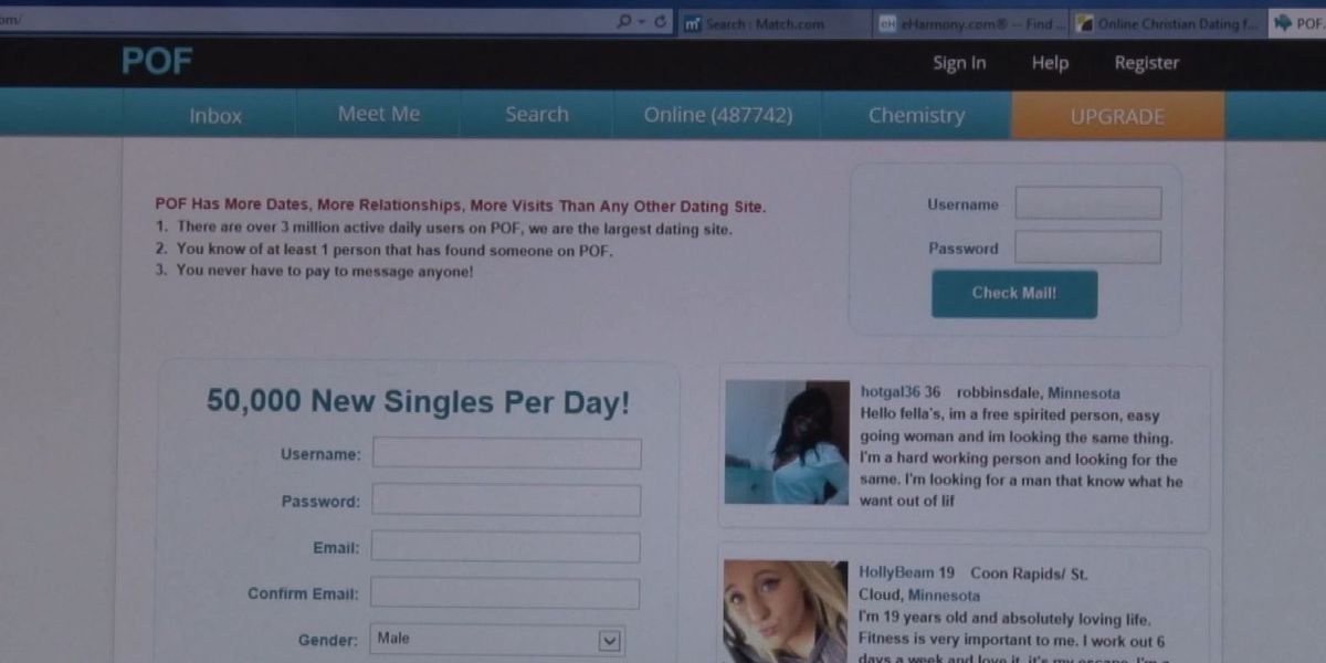 FBI warns of online dating scams