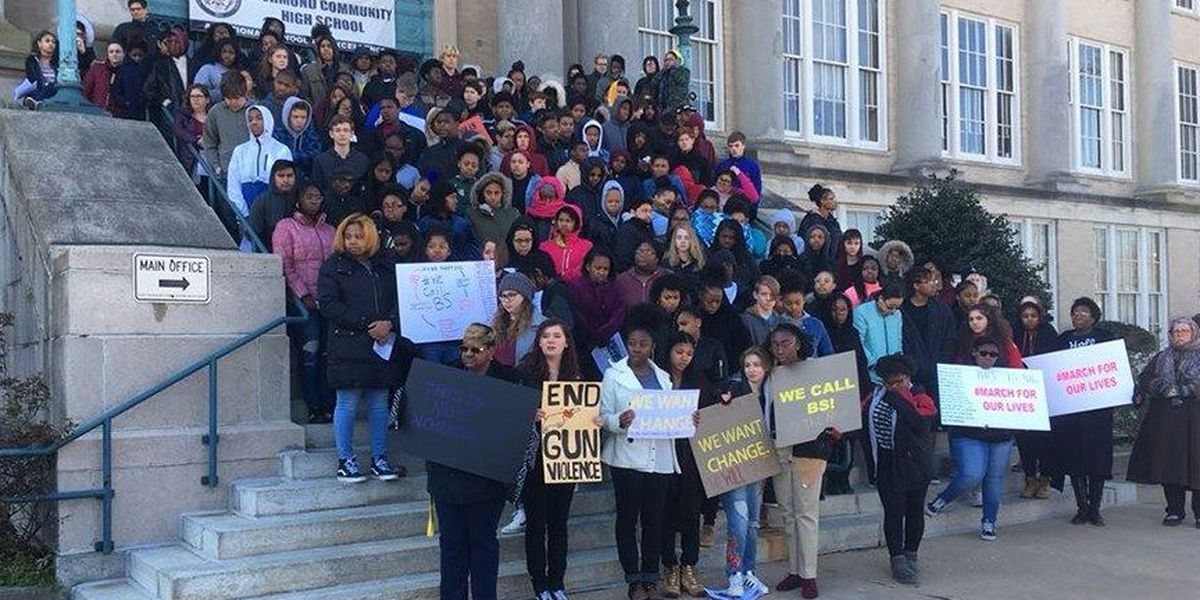 Central VA students join National Walkout Day