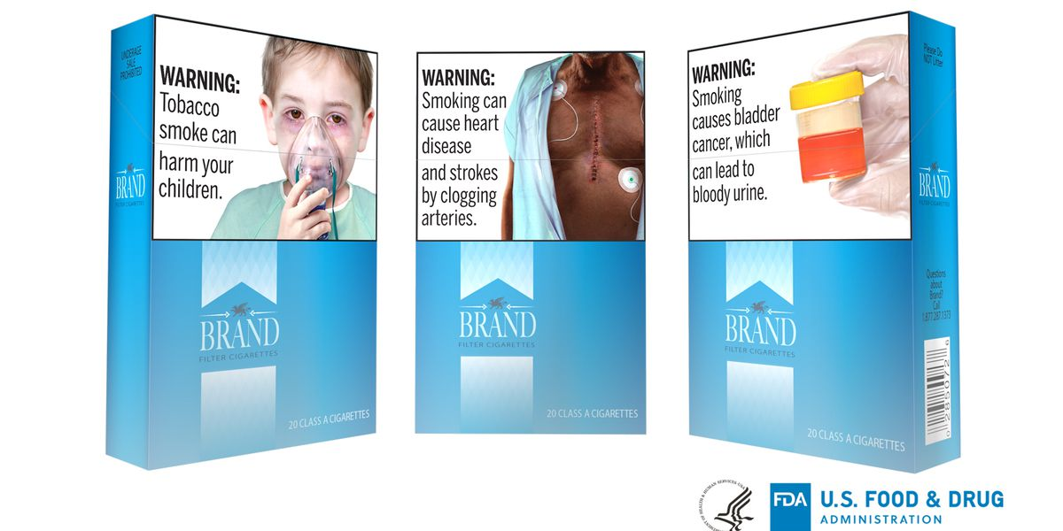 FDA proposes new graphic packaging for cigarettes