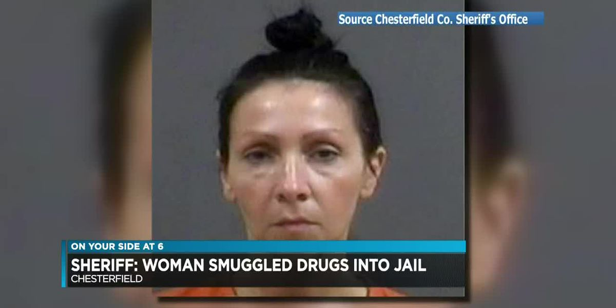 Sheriff: Woman smuggled drugs into jail