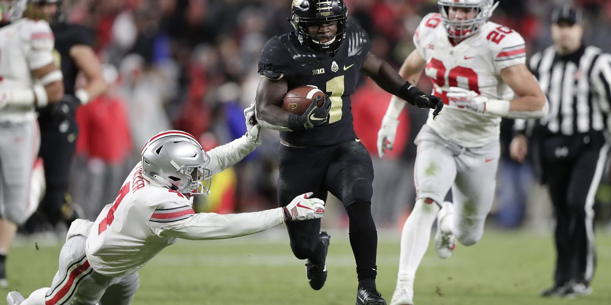 No. 2 Ohio State stumbles at Purdue, gets blown out 49-20
