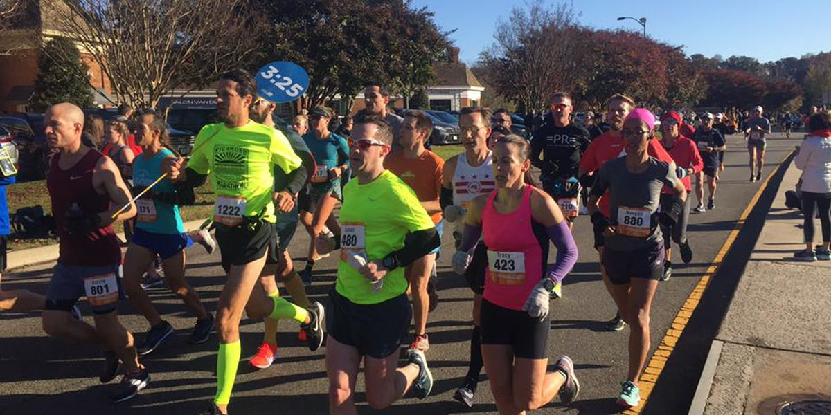 18K runners take part in 41st Anthem Richmond Marathon