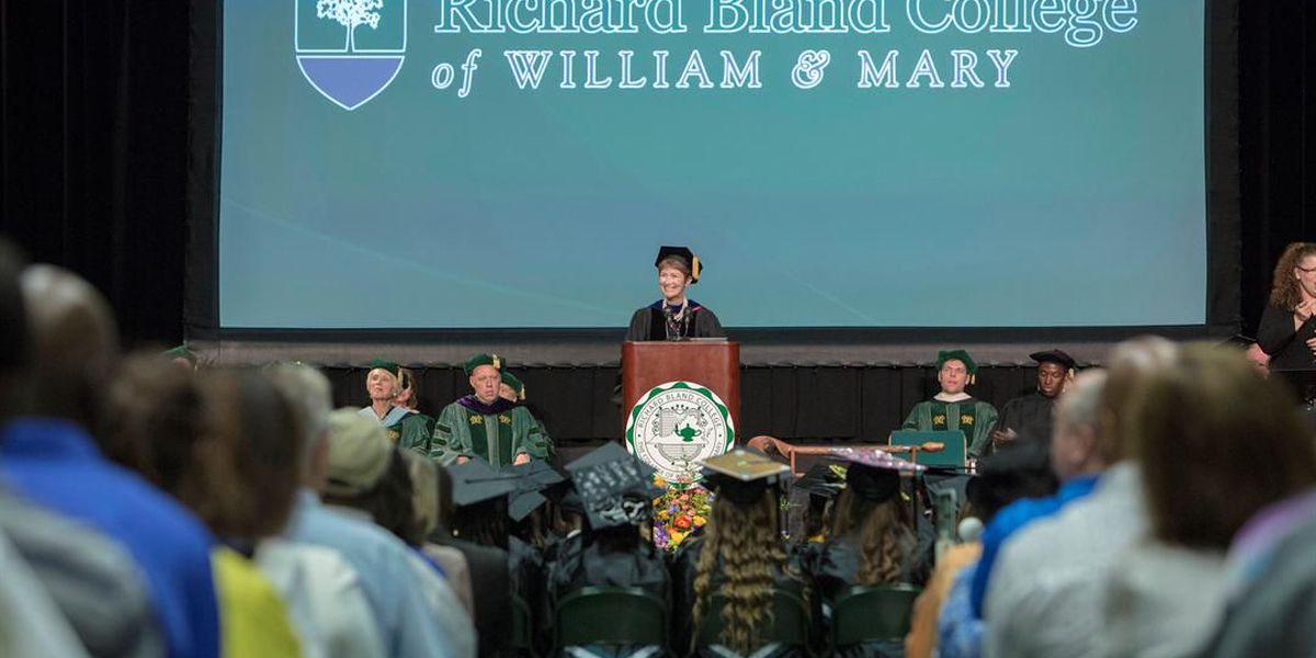 Richard Bland College graduates largest class in school's history