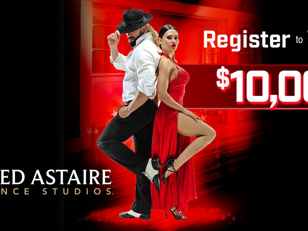 $10,000 from Fred Astaire Dance Studios: This contest has ended