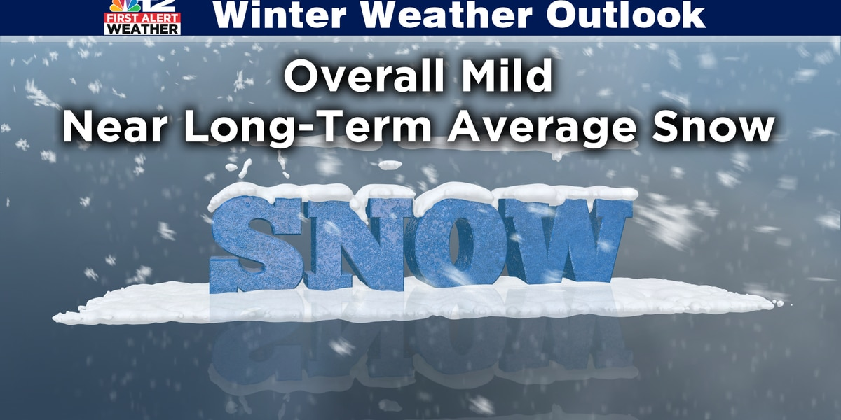 Virginia's winter outlook for 2019-2020 expected to be relatively mild