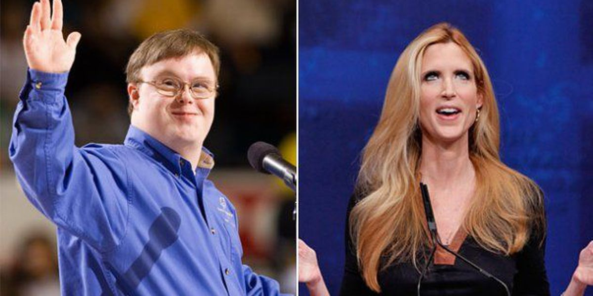 VA Special Olympian's response to Ann Coulter goes viral