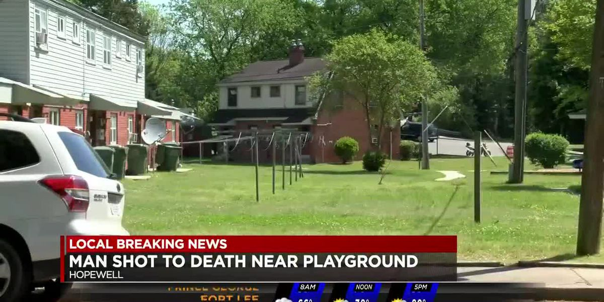 Man found shot to death near playground