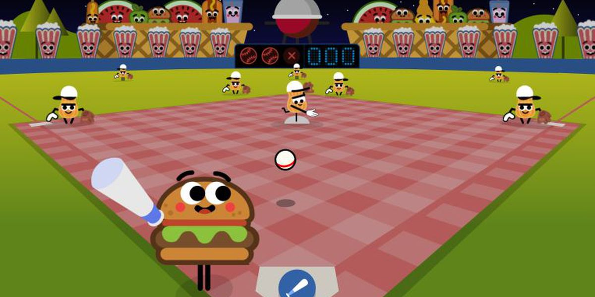 Batter up! Play baseball with your food on Google's home page
