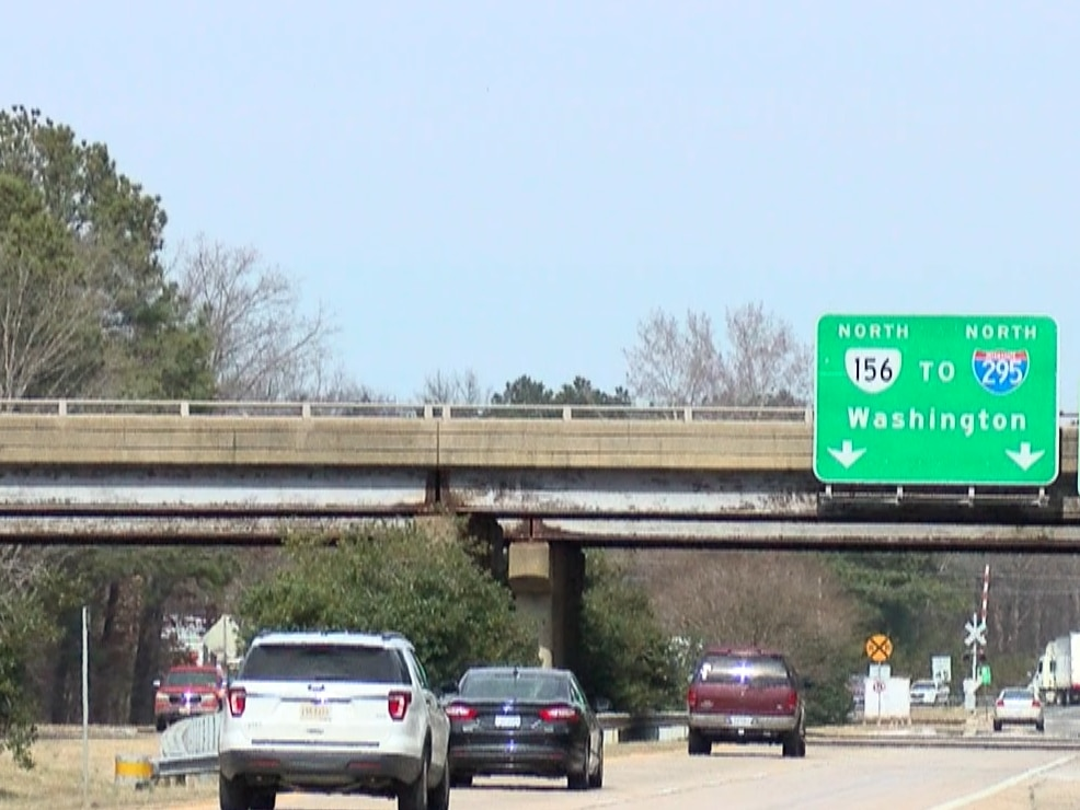I-64/Airport Drive improvement project underway
