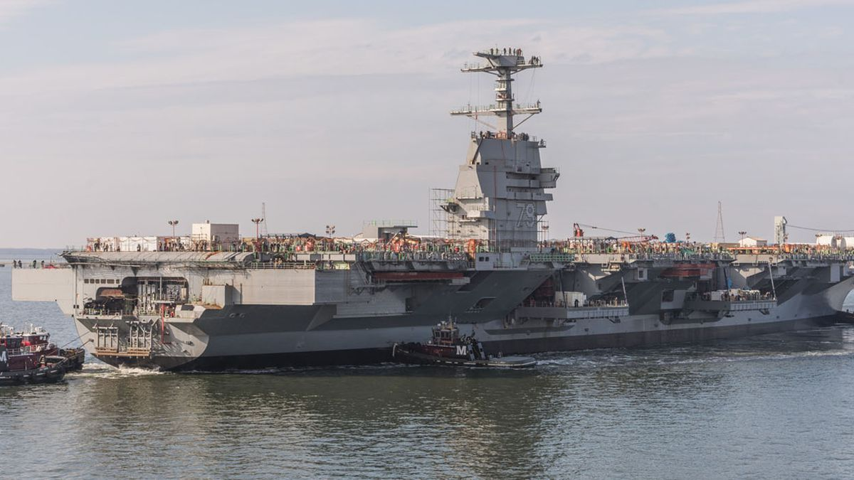 Newport News Shipbuilding announces layoffs for 300-plus employees
