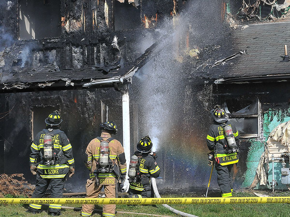 No injuries reported after a Fort Lee house fire