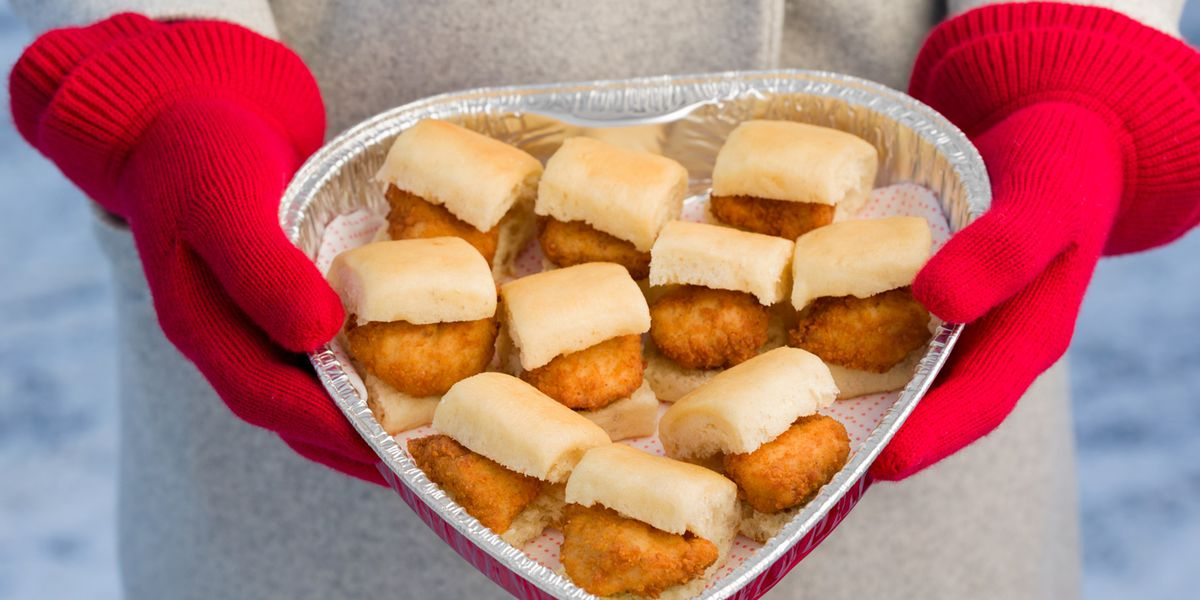 Chick-fil-A is selling heart-shaped Chick-n-Minis boxes so cancel your fancy Valentine's Day plans