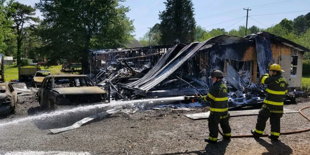 Elderly woman killed in southern Virginia house fire