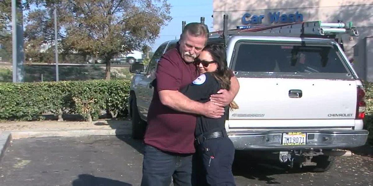 Paramedic helps homeless man years ago, and now he's helping others in their recovery