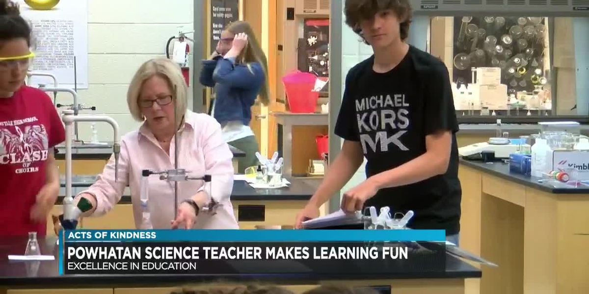 Chemistry teacher for 3 decades finds special ways to connect with students