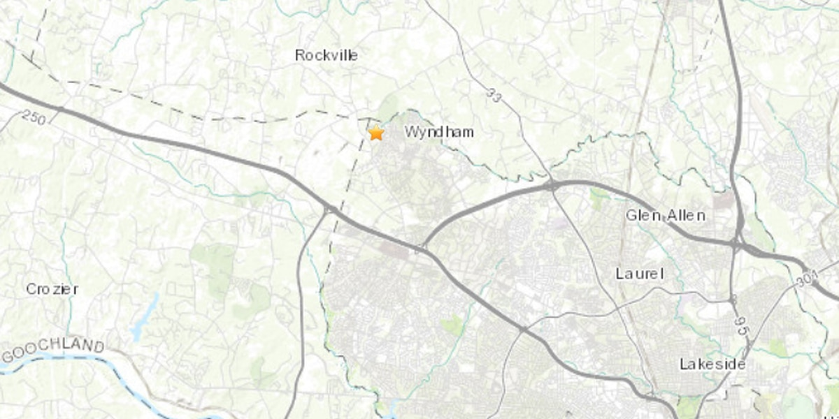 Did you feel it? 2.5 magnitude earthquake shakes Henrico