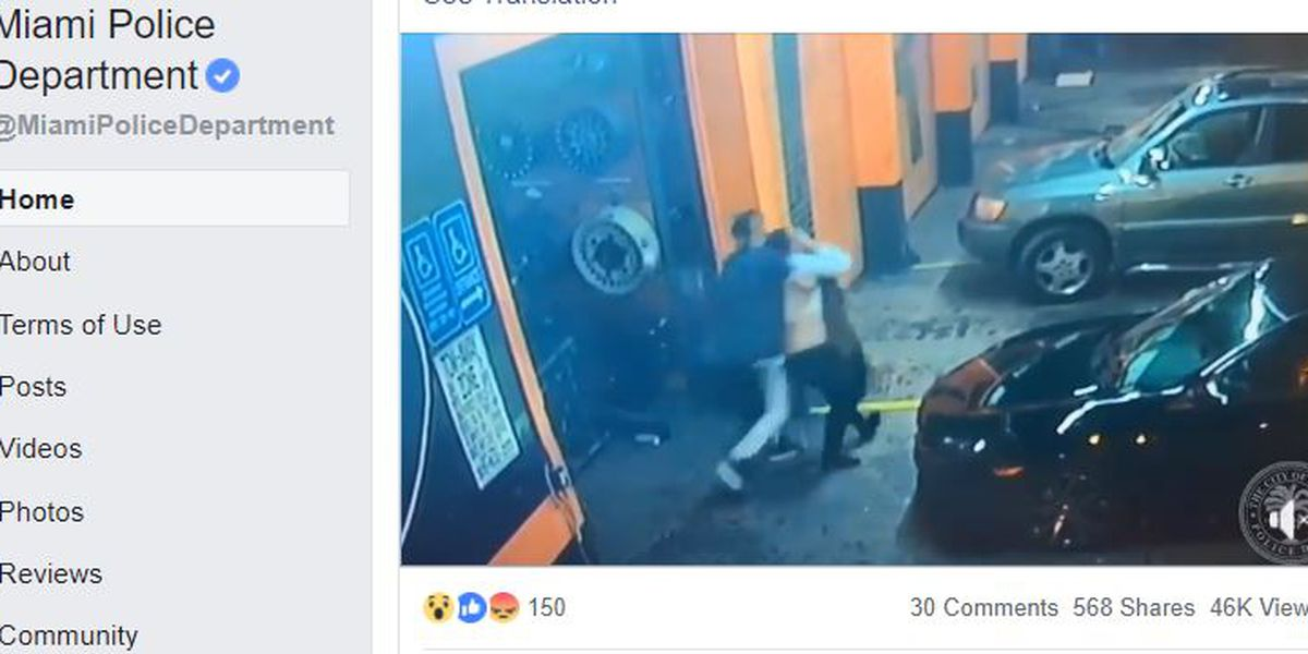 Video captures woman's apparent abduction from Miami tire shop