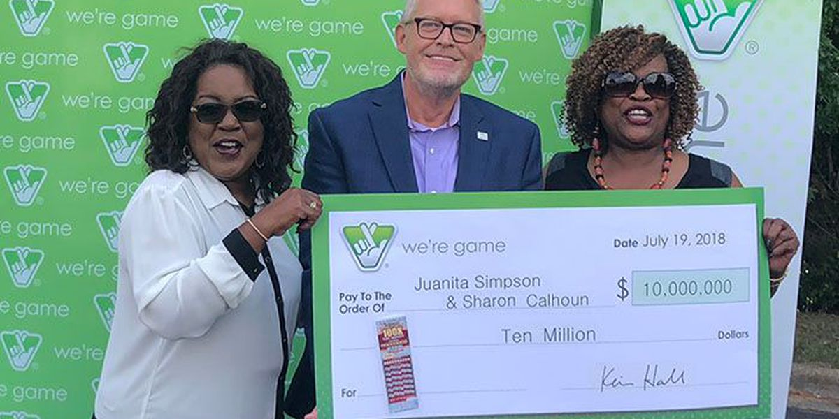 Sisters win $10M in Virginia Lottery scratcher
