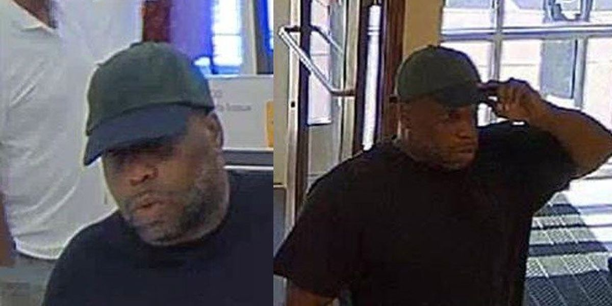 Henrico police search for Glen Allen bank robbery suspect