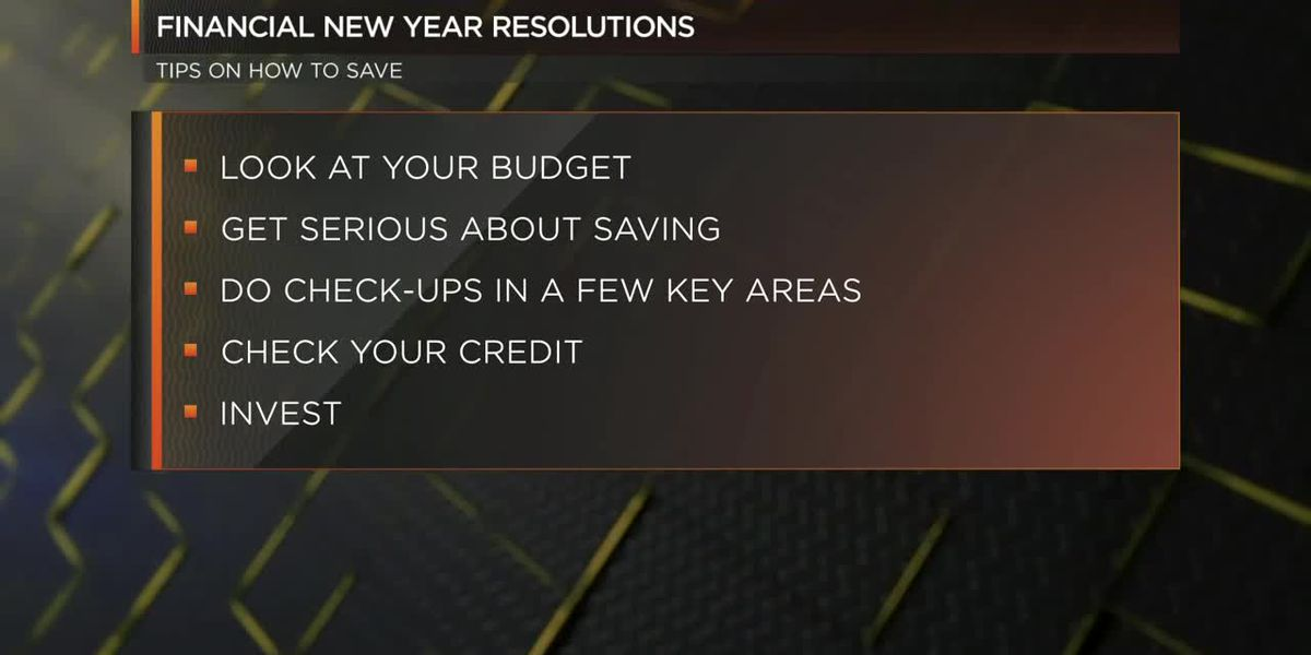 Apps to help with your financial New Year's resolutions