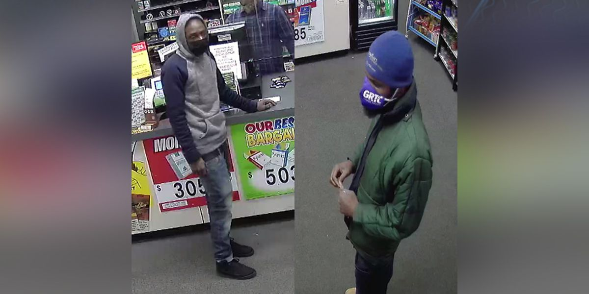 Henrico police search for 2 men accused of stealing 3 cartons of cigarettes