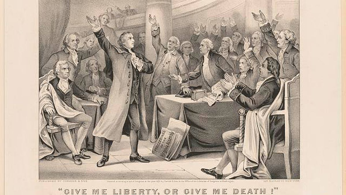 On this day: Patrick Henry, known for fiery speech inside St. John's Church, is born