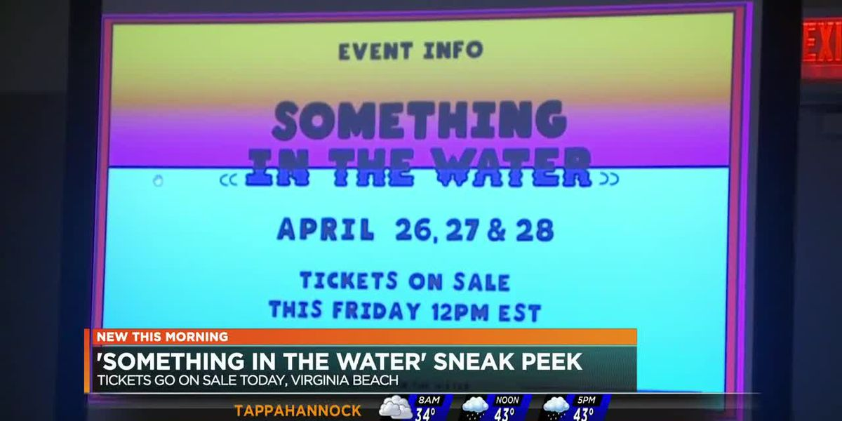 'Something in the Water' sneak peek