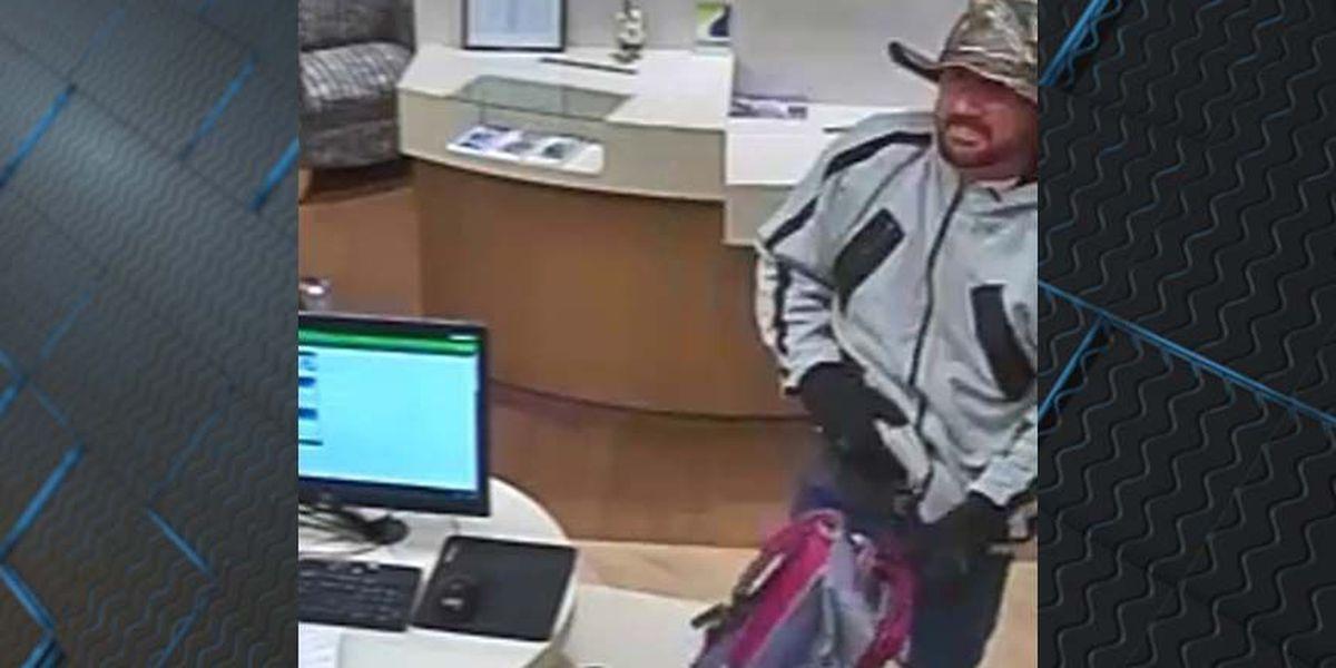 FBI: $10K reward for 'Chameleon Beard Bandit'