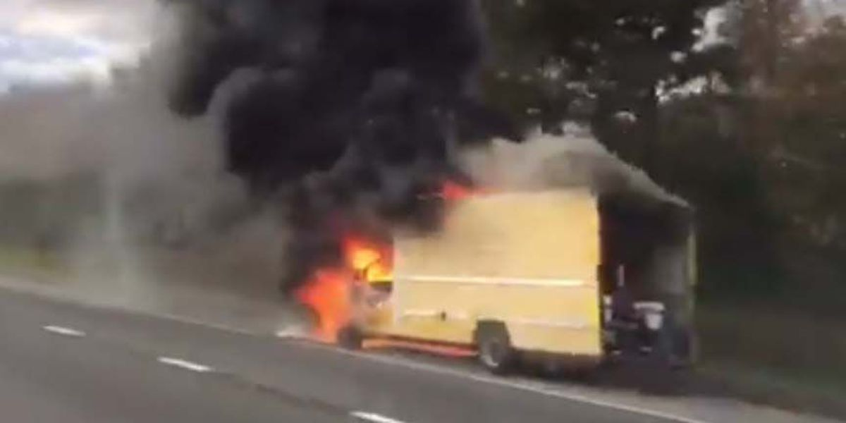 TRAFFIC ALERT: Truck fire on I-295S near I-64