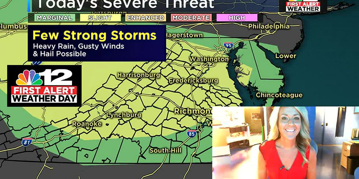 Few strong storms possible Friday