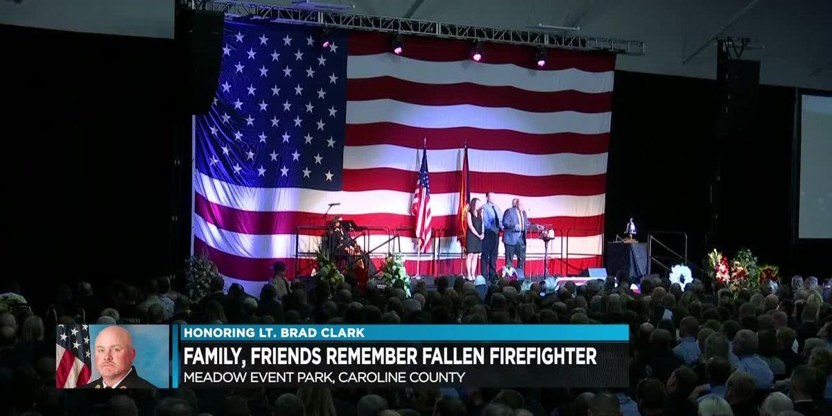Hundreds remember firefighter Lt. Brad Clark