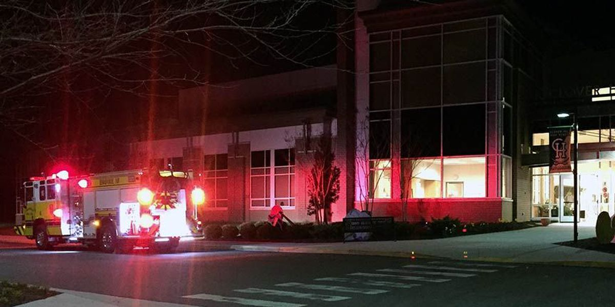 Clover Hill HS sprinklers extinguish fire