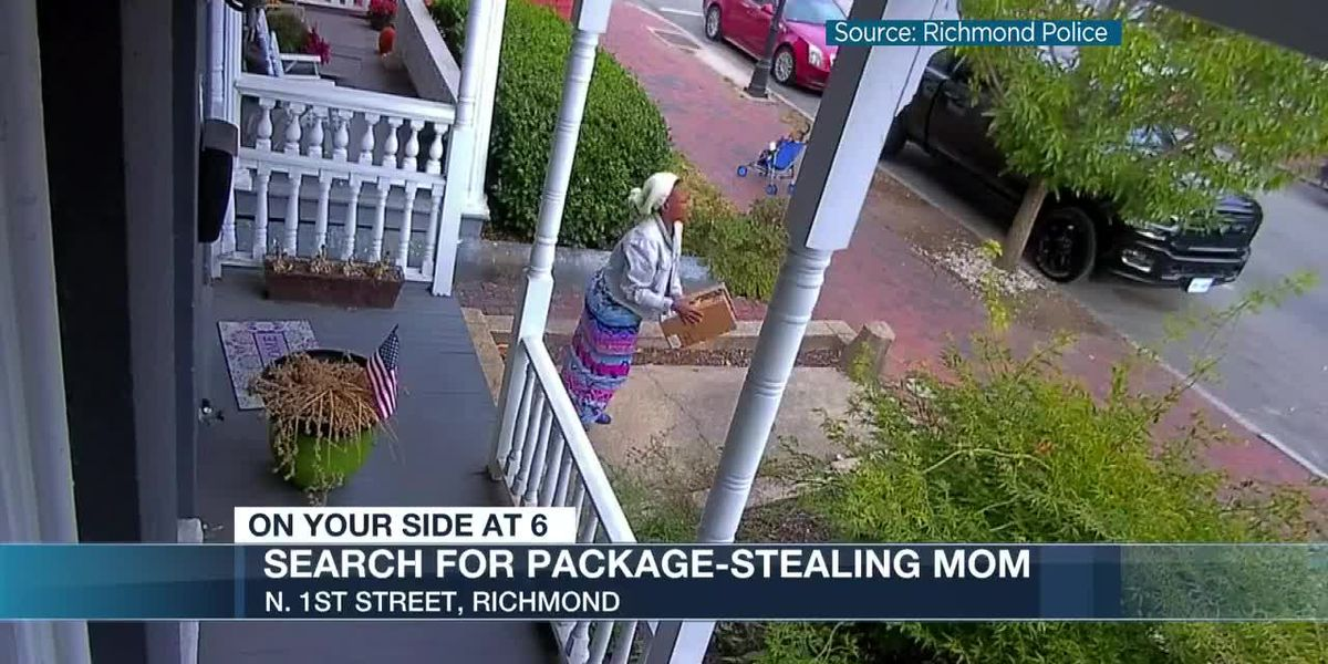 Search for package-stealing mom