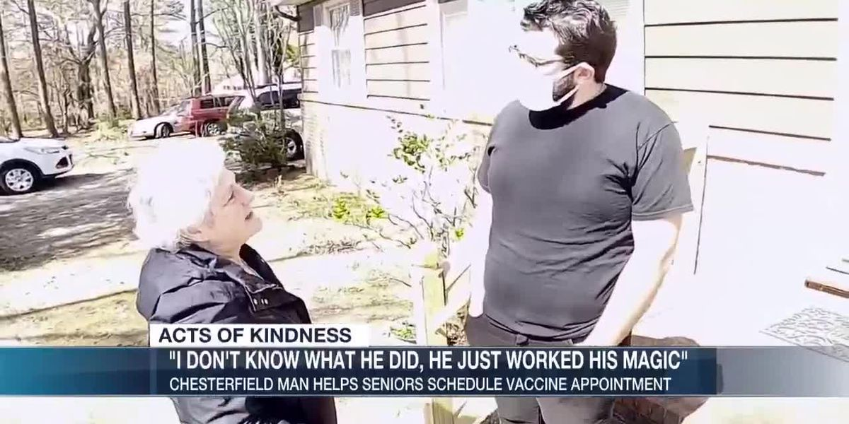 Chesterfield man makes COVID-19 vaccine appointments for dozens of seniors