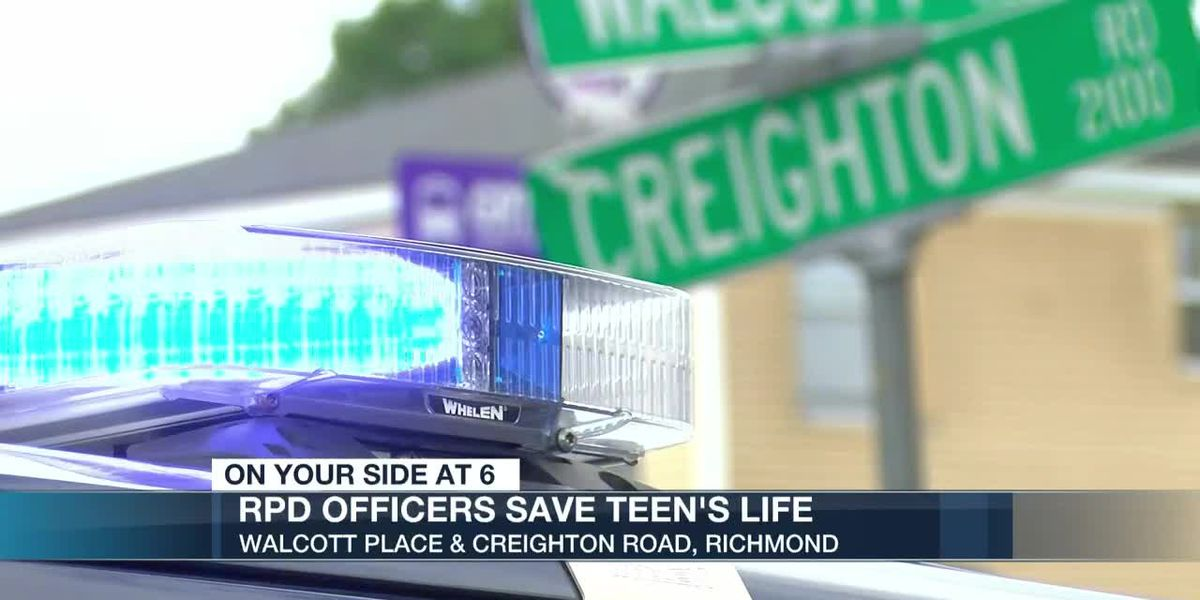 RPD officers save teen's life