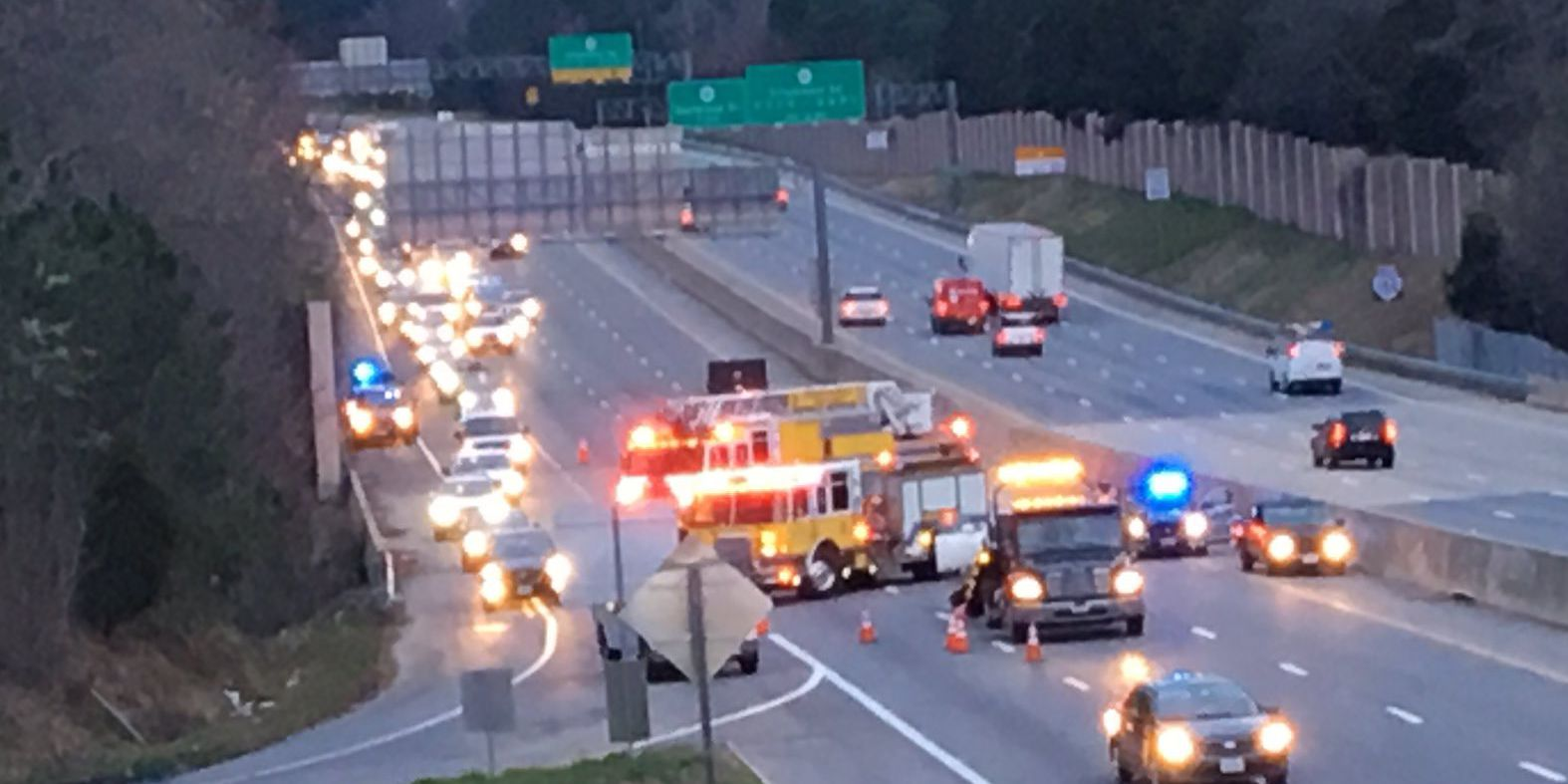 Chippenham Parkway reopens after 3 crashes