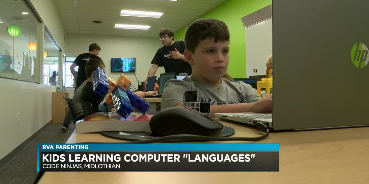 Future developers? Coding program sets up children to learn useful tech skills