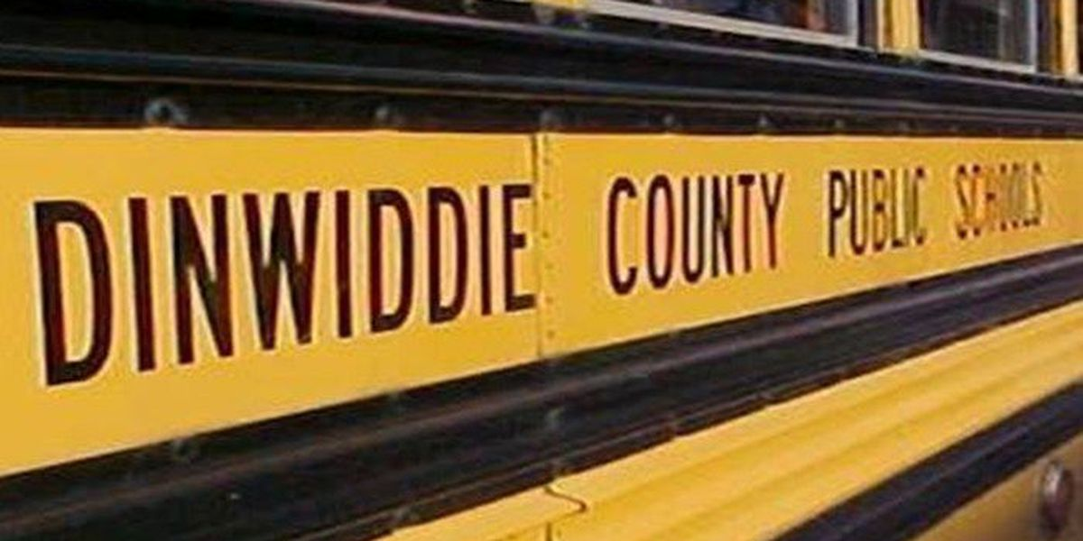 Bus with 4 students on board runs off road into ditch