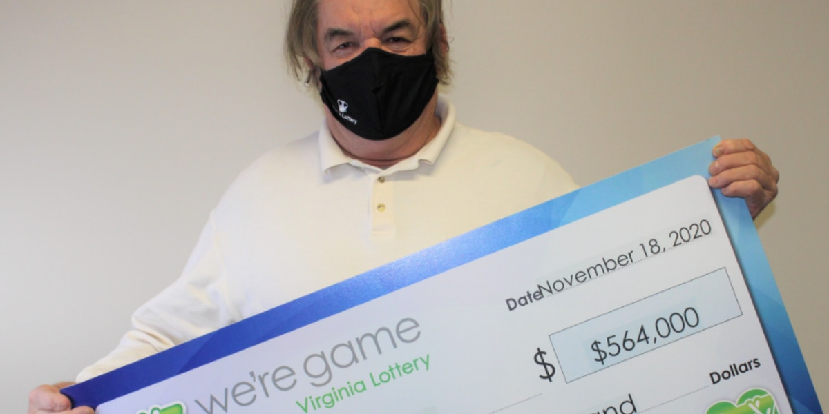 Man wins big with Virginia Lottery ticket he bought while on chocolate shake run