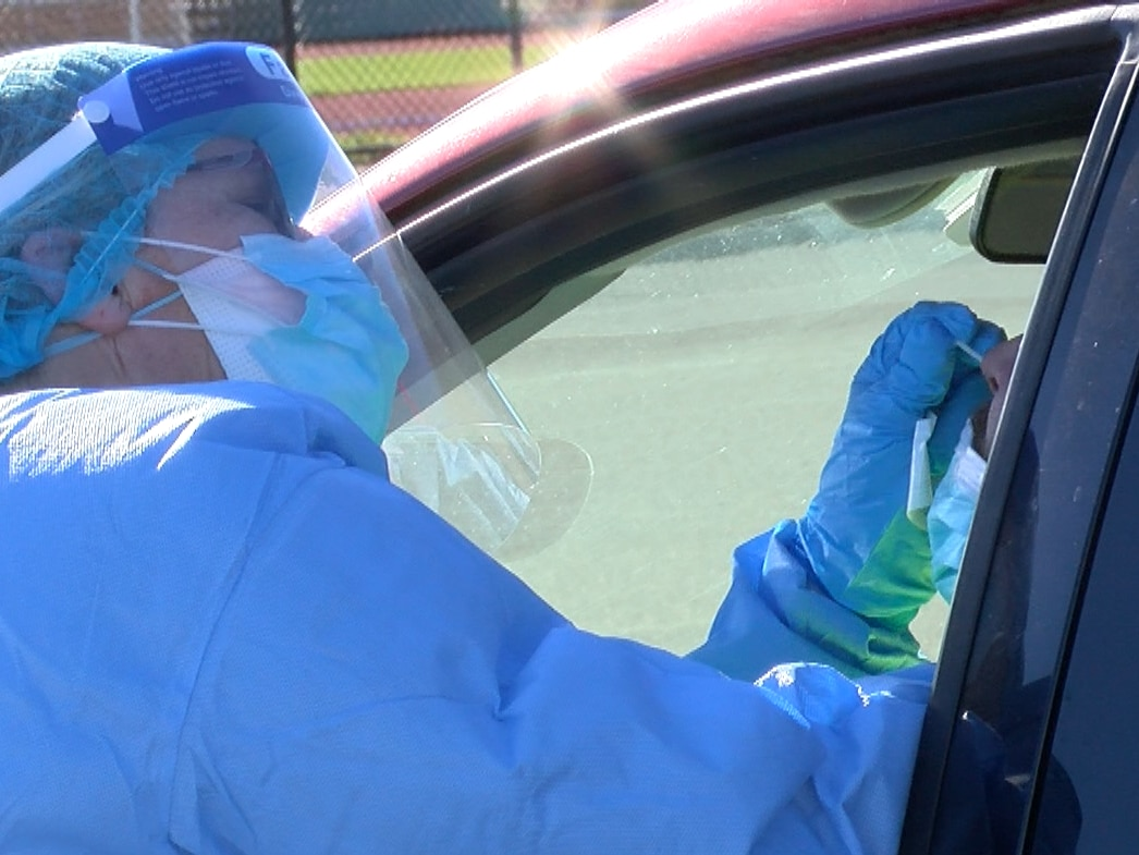 400 people tested for COVID-19 in Richmond drive-thru event