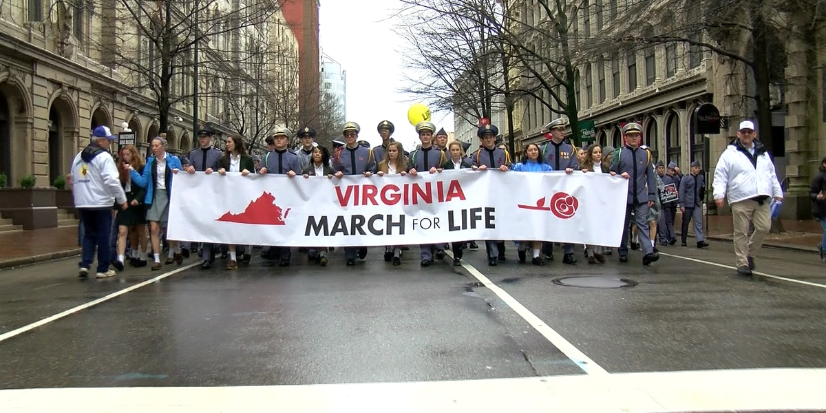 Thousands gather at Capitol for March for Life rally