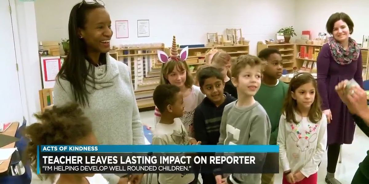 Teacher honored for making a difference beyond the classroom