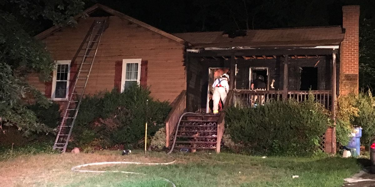 Smoking materials spark Chesterfield house fire; 3 displaced