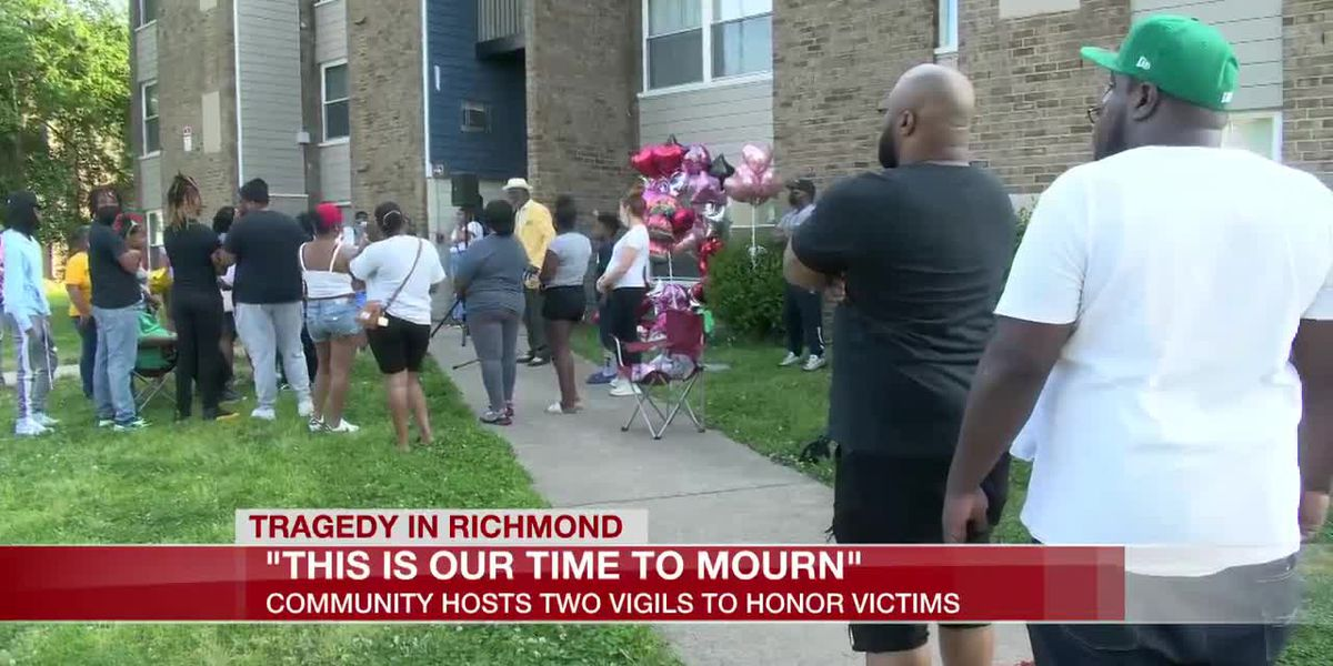 'This is our time to mourn': Community hosts 2 vigils to honor shooting victims