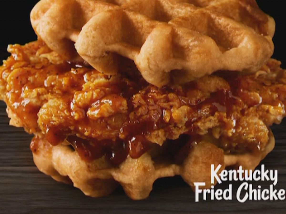 KFC adds chicken and waffles to the menu