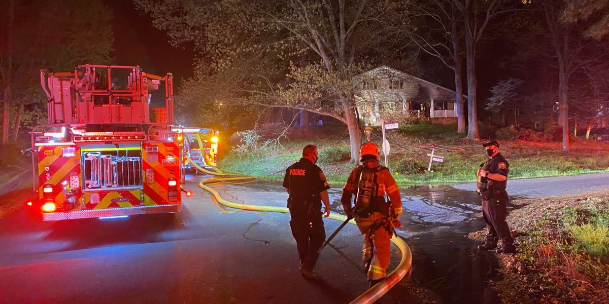 Man dead, 7 taken to hospital after 3-alarm house fire in Chesterfield